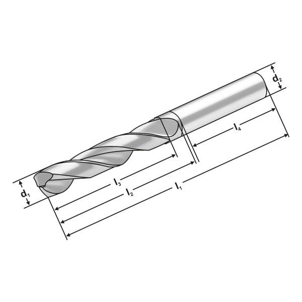VHM Bohrer 3XD   12.75  mm