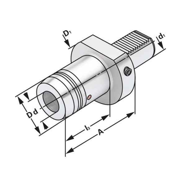 Hydro-Dehnspannfutter VDI 50-18-95