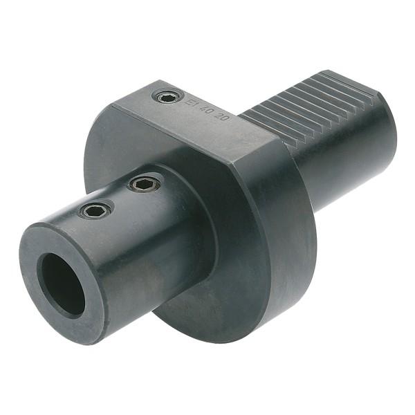 Bohrerhalter für Wendeplattenbohrer E1-50x40
