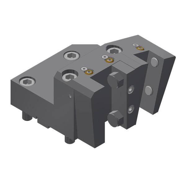 Werkzeughalter mit Vierkant-Mehrfachaufnahme